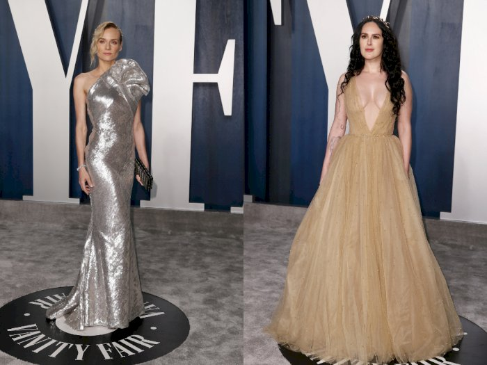 Gaun dan Perhiasan Dipakai Selebriti di Oscar Bisa Dibayar Miliaran