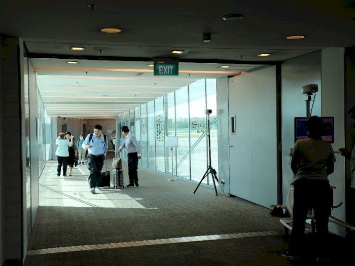Antisipasi Korona, Bandara Changi Sediakan 245 Pos Hand Sanitizer