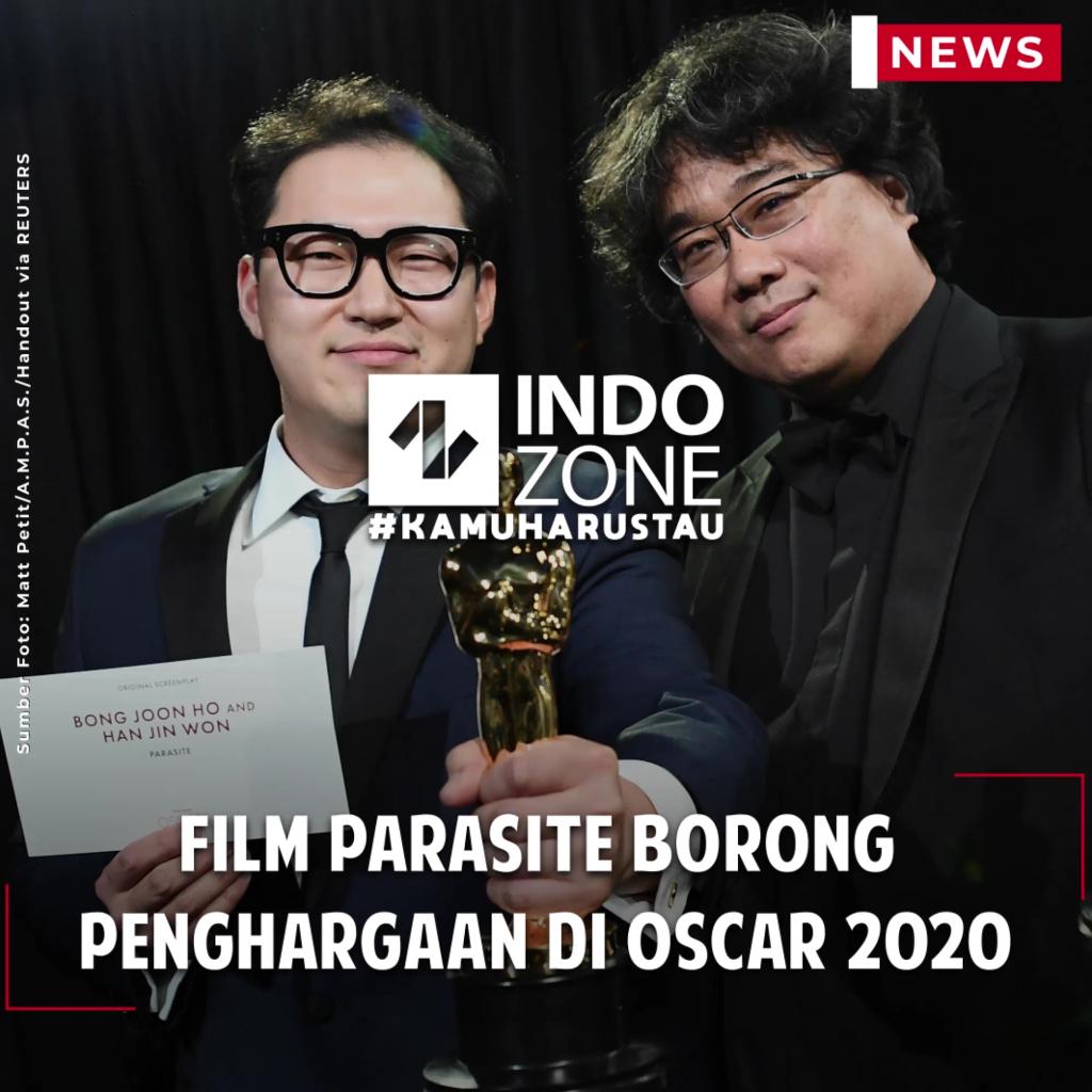 Film Parasite Borong Penghargaan di Oscar 2020