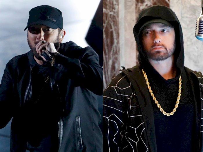 Reaksi Bingung Saat Eminem Bawakan 'Lose Yourself' di Oscar 2020