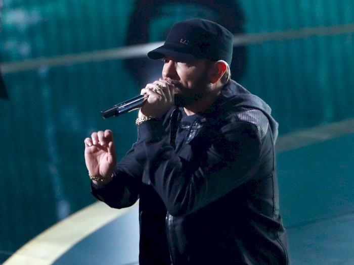 """Penjualan Lagu """"Lose Yourself"""" Eminem Meningkat Sejak Tampil di Oscar"""