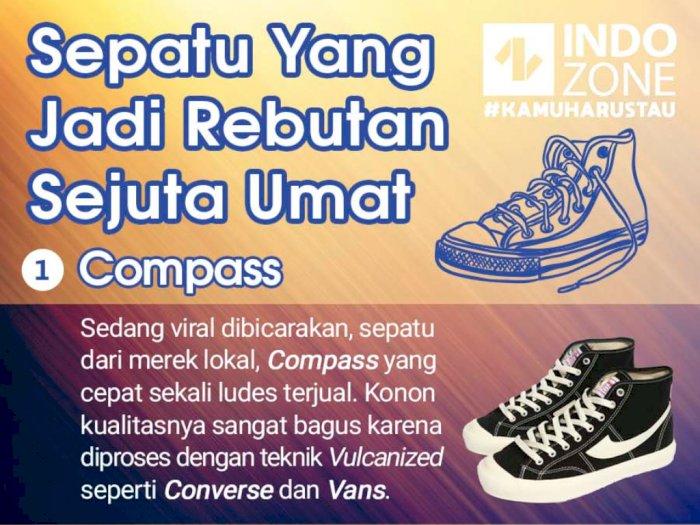 Sepatu Yang Jadi Rebutan Sejuta Umat