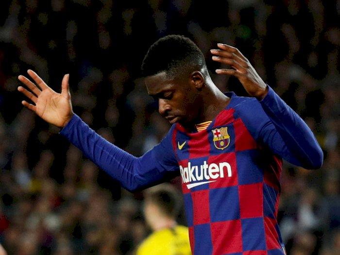 Ousmane Dembele Absen Bela Barcelona 6 Bulan