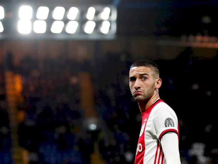 Chelsea Kunci Hakim Ziyech, Gelandang Ajax Amsterdam