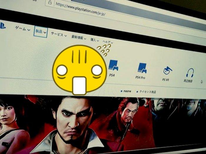 Situs Web PlayStation Jepang Tak Sengaja Bocorkan Wujud PlayStation 5?