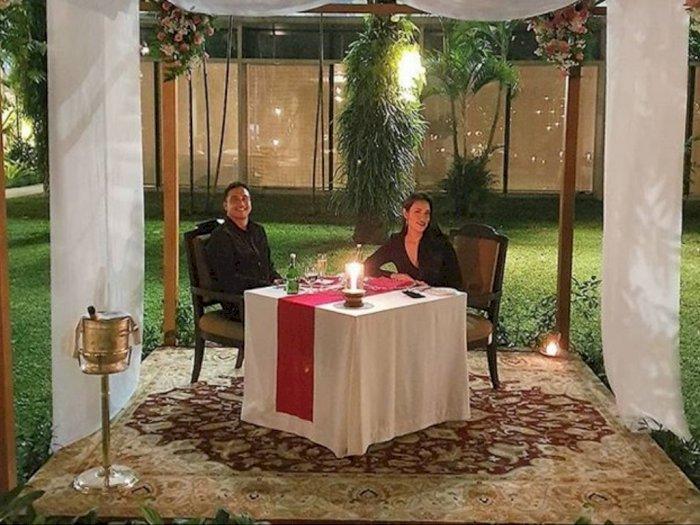 Candle Light Dinner ala Hamish Daud dan Raisa di Hari Valentine
