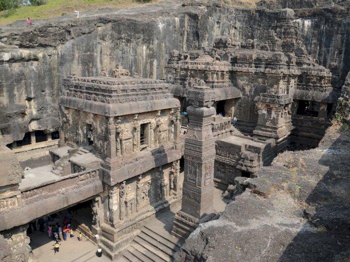 Kuil Kailasa, Tempat Suci yang Terbuat dari Pahatan Batu Besar