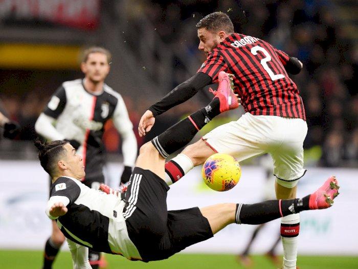 Foto Ac Milan Vs Juventus Berakhir Imbang 1 1 Indozone Id