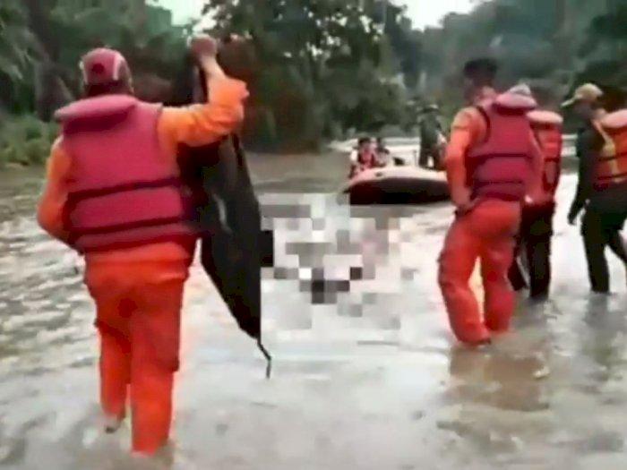 Tim SAR Akhirnya Temukan Mansyur yang Hanyut di Sungai Silau
