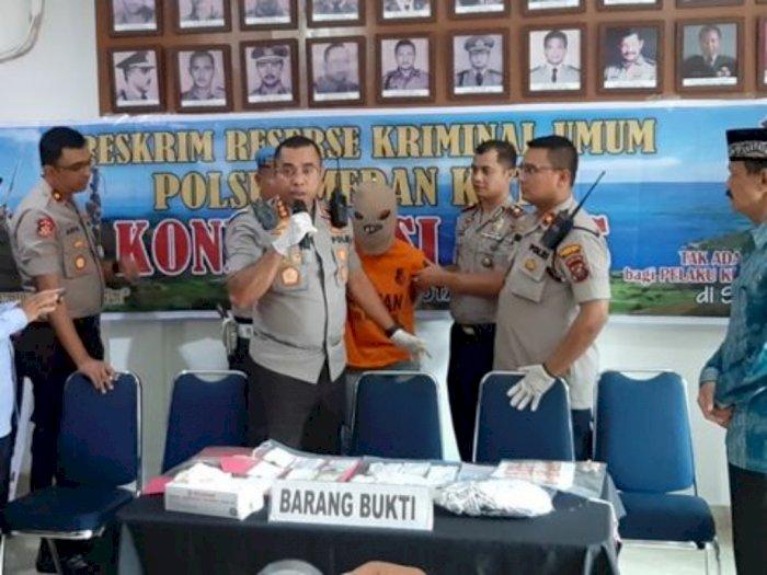 Pembuang Sobekan Kertas Al Quran di Medan Ditangkap Polisi