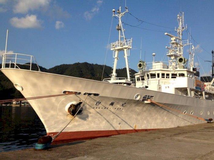 Jepang Resmi Sumbangkan Kapal Pengawas Hakurei Maru untuk Indonesia