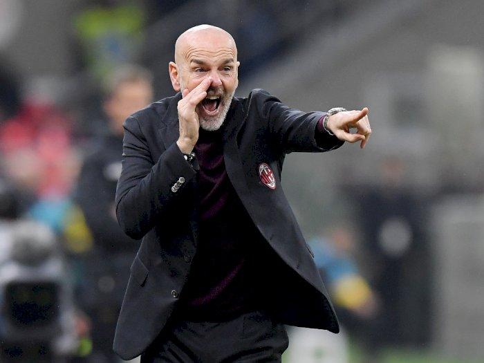 Imbang Lawan Juventus, Pioli Tak Puas dengan Keputusan Wasit