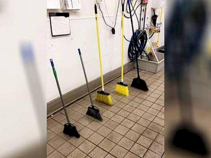 Ada-ada Saja, Intip Aksi Broom Challenge Para Warganet Ini