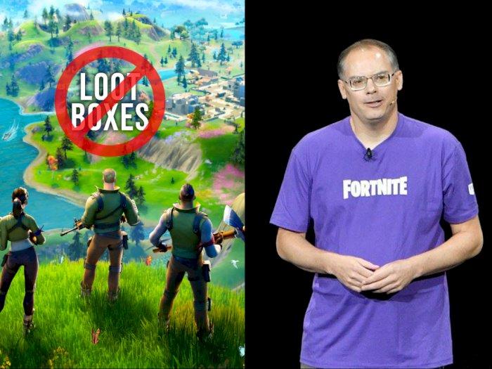 CEO Epic Games Sebut Sistem Loot Boxes Mirip Seperti Judi di Las Vegas