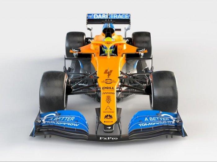 Inilah Tampilan Mobil Balap Terbaru Milik Tim McLaren