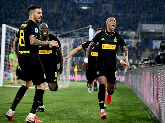 Kalah dari Lazio, Inter Milan Tetap dalam Persaingan Scudetto