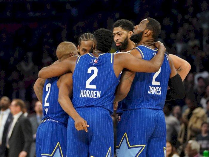 Cara Unik Pemain NBA All Star Game 2020 Kenang Kobe Bryant dan Gianna