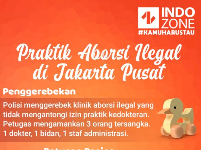 Praktik Aborsi Ilegal di Jakpus