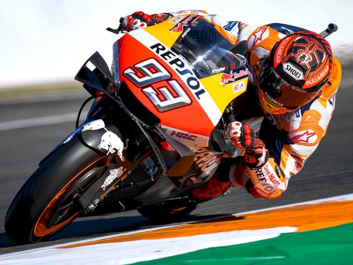 Resmi! Marquez Bertahan di Honda Hingga MotoGP 2024