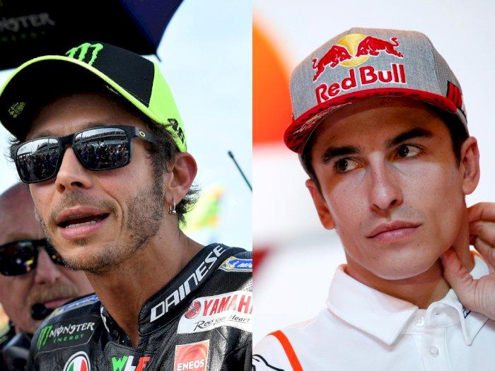 Perpanjang Kontrak, Marquez Disindir Tak Seberani Rossi