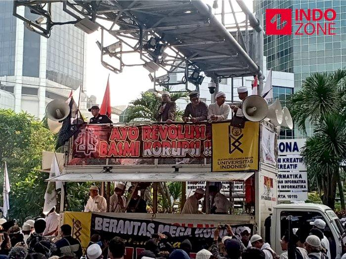 Orasi di PA 212, Slamet Maarif Singgung Maraknya Korupsi di BUMN