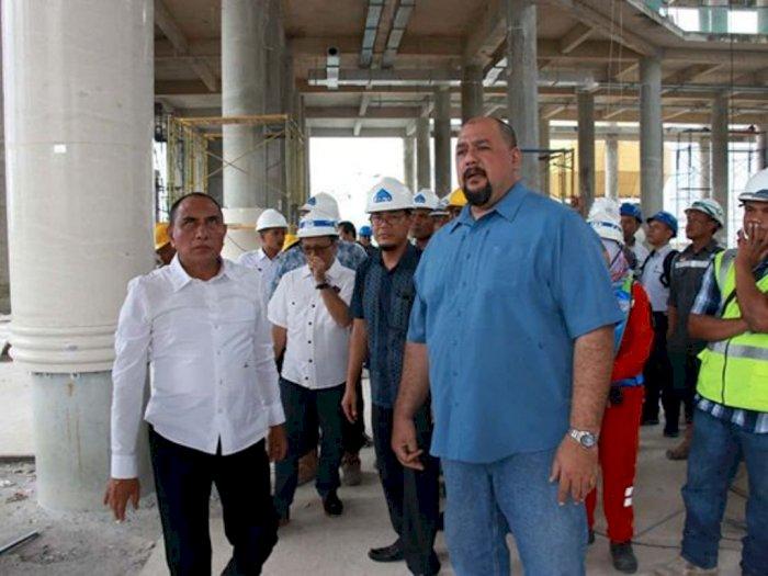 Gubsu Harapkan Masjid Agung  Agung Bisa Difungsikan April 2020