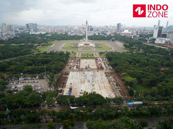 Para Arkeolog Desak Gubernur Jakarta Batalkan Formula E di Monas