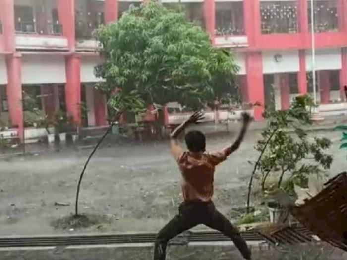 Gokil, Ternyata di Kota Blitar Ada Avatar yang Bisa Taklukan Angin