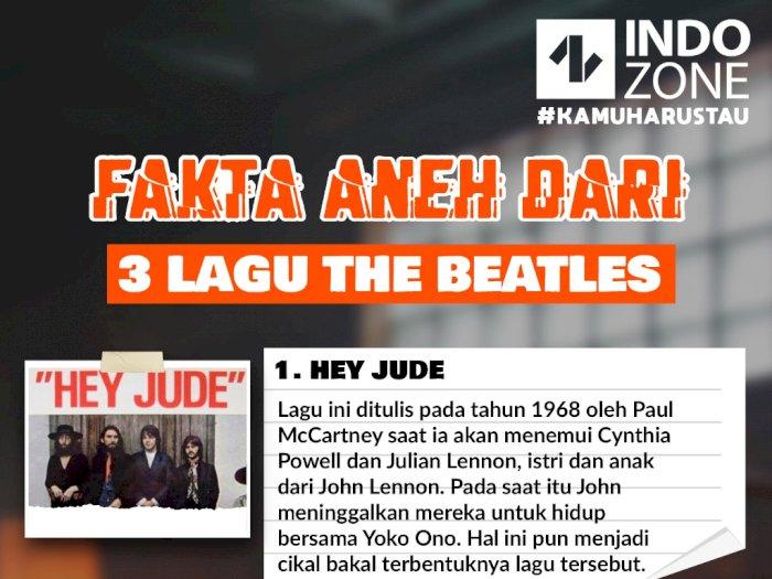 Fakta Aneh Dari 3 Lagu The Beatles