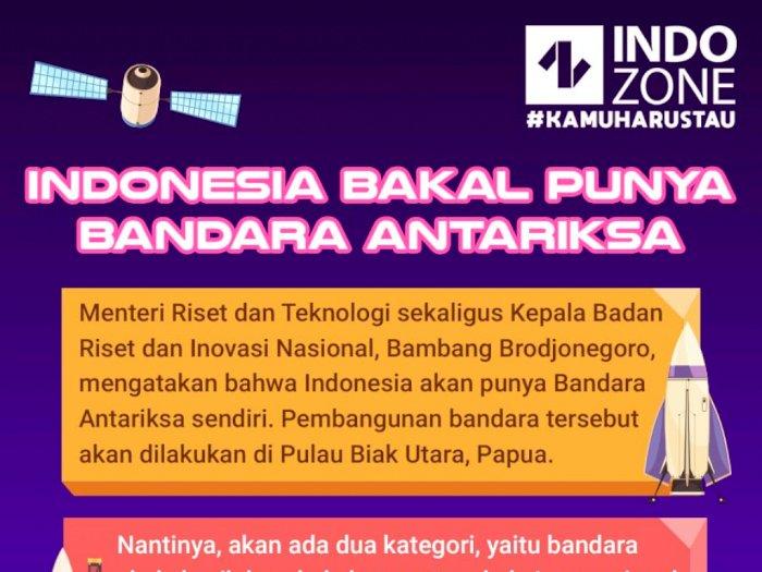 Indonesia Bakal Punya Bandara Antariksa