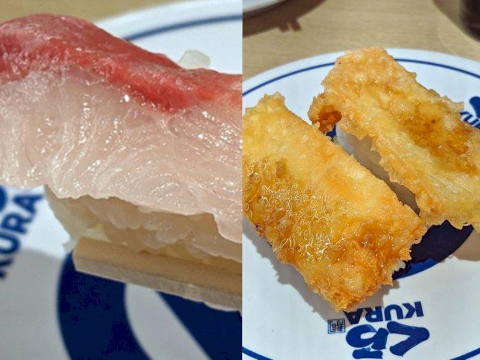Ada Sushi Ikan Cokelat dan Tempura Keju, Penasaran dengan Rasanya?