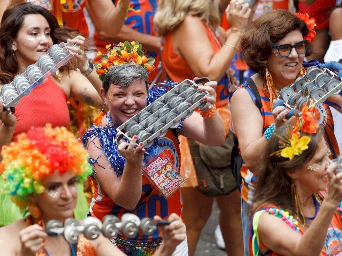 FOTO: Warna-warni Kemeriahan Karnaval Rio di Brasil