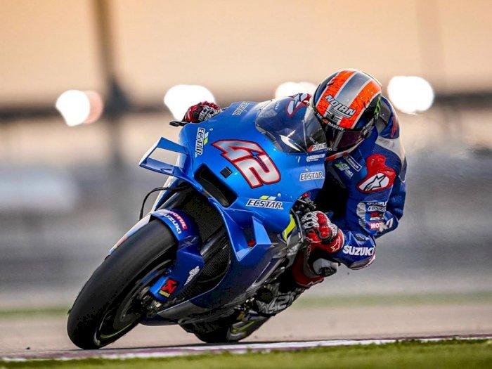 Hasil Tes Pramusim MotoGP Qatar : Suzuki Berhasil Meraih Posisi 1-2