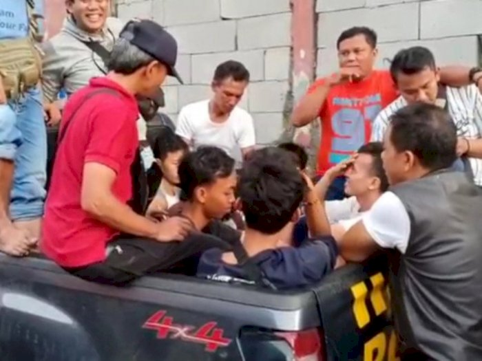Polisi Telah Tangkap 8 Remaja Diduga Terkait Kericuhan AEON Mal