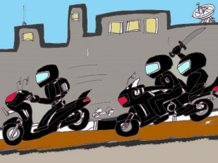 Pakai Sajam dan Buat Resah, Geng Motor Ini Ditangkap Warga dan Polisi