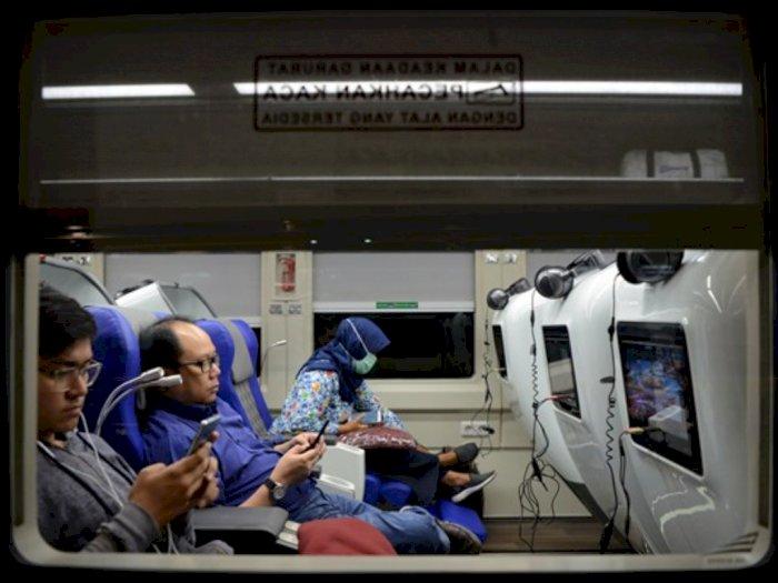 Kereta Gangguan Akibat Banjir, Penumpang Bisa Refund Tiket 100 Persen
