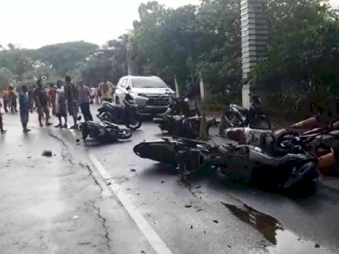 Sudah Kondusif, Polisi Sebut Massa di JGC Sempat Rusak AEON Mal