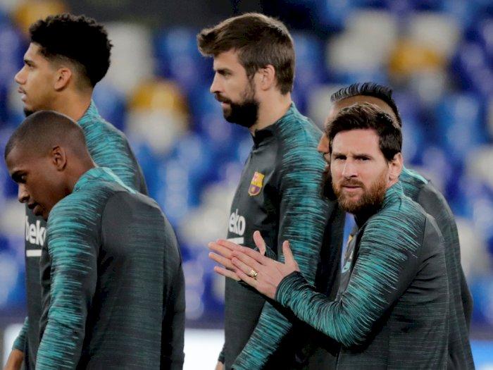Maradona atau Messi, Pique: Jelas Messi