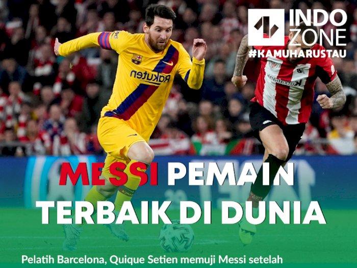 Messi Pemain Terbaik di Dunia