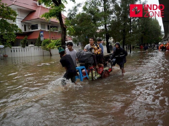 Jakarta Kebanjiran, Polda Metro Siap Bantu Pemprov Atasi Banjir