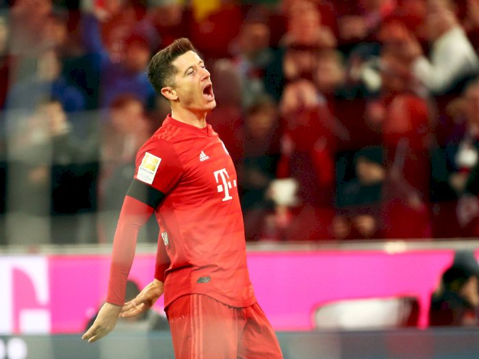 Robert Lewandowski Dalam Penampilan Terbaiknya