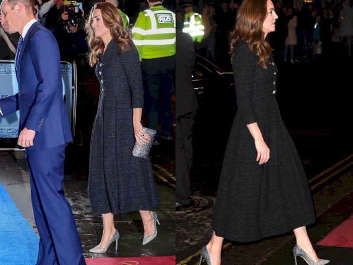 Hadiri Pertunjukan Amal, High Heels Kate Middleton Curi Perhatian