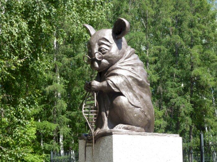 Monumen Tikus di Rusia, Dibangun Untuk Mengenang Jasa-Jasa Tikus