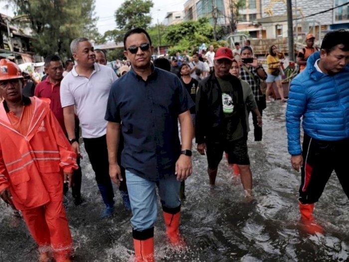 Ini Penjelasan Anies Soal Dirinya yang Tak Hadir Rapat Membahas Banjir