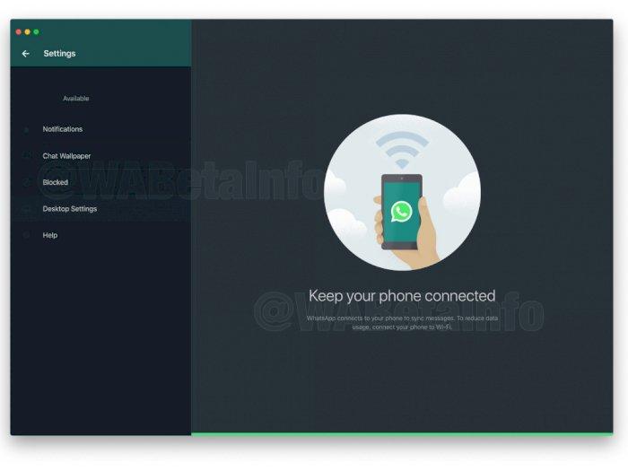 Mantap! Fitur Dark Mode Juga Bakal Hadir di WhatsApp Versi Desktop