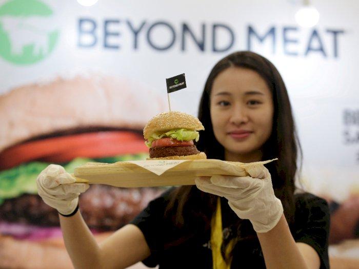Pekan Depan, Starbucks Kanada Hadirkan Burger 'Daging Palsu'