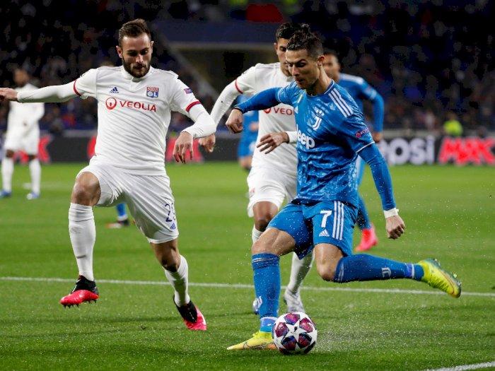 Liga Champions: Lyon VS Juventus 1-0 di Babak Pertama