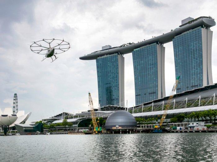Layani Penumpang di Asia Tenggara, Taksi Udara Siap Beroperasi