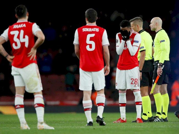 Hasil Lengkap 32 Besar Liga Europa: Arsenal dan Ajax Tersingkir!