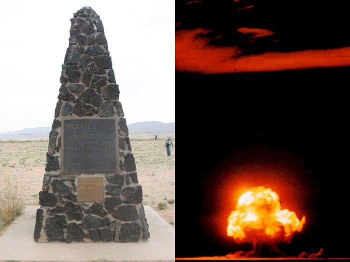 Situs Trinity, Lokasi Pengembangan Senjata Nuklir pada Perang Dunia II